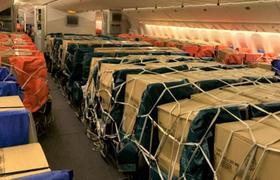 阿联酋航空SkyCargo货运部再创里程碑: 利用客机座椅和头顶行李架运送抗疫急需物资已满一周年*