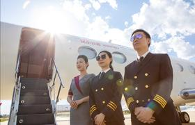 """""""公务航空领域的超级007"""", 快乐公务航空连续成功执行多次高难度国际飞行"""