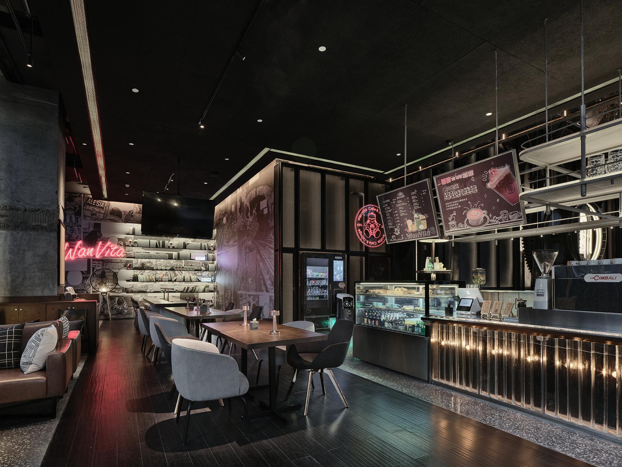在空间设计上,WanVita采用风靡全球的摩登时尚风.jpg