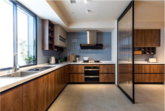 柏厨家居时光印橡搭载MIX平台 遇上人体工程学造就厨房新生活